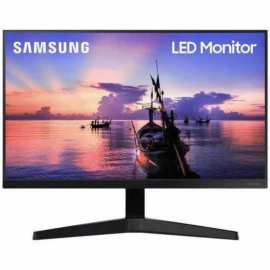 历史最低价!Samsung 三星 LS24T350FHNXZA 24英寸LED护眼显示器 138加元包邮!