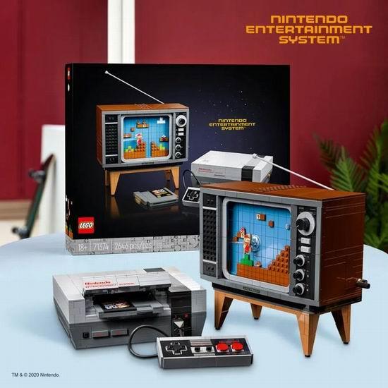 补货!LEGO 乐高 71374 任天堂乐高超级玛丽系列NES红白机 299.99加元包邮!