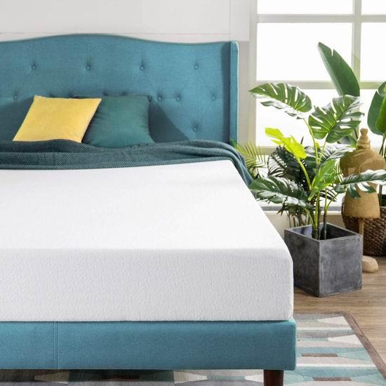 历史新低!Zinus 8英寸 绿茶记忆海绵King床垫 6.7折 258.87加元包邮!