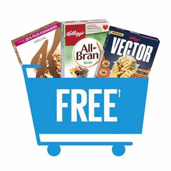 健康美味的早餐零食!Kellogg's 谷物早餐免费送啦!