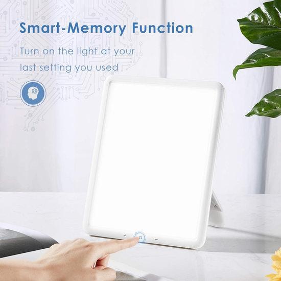 金盒头条:TaoTronics 无紫外线 10000 Lux 超薄光疗情绪 光疗能量灯 37.99加元包邮!免税!