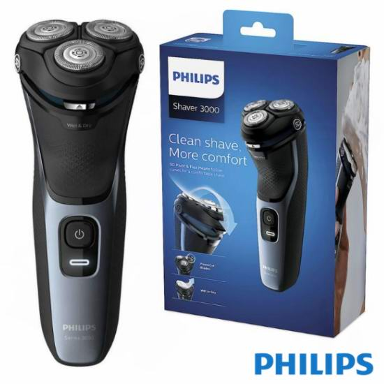 历史新低!Philips 飞利浦 S3133/51 干湿两用 男式电动剃须刀 49.99加元包邮!