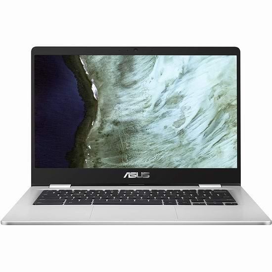 历史最低价!Asus 华硕 Chromebook 14英寸 窄边框 笔记本电脑6.7折 269加元包邮!