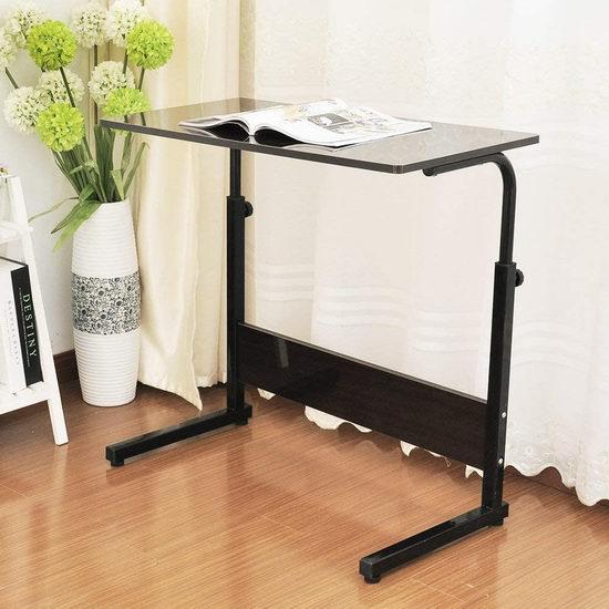 sogesfurniture 31.4英寸 便携式可调高 床边/沙发电脑桌 49加元限量特卖并包邮!