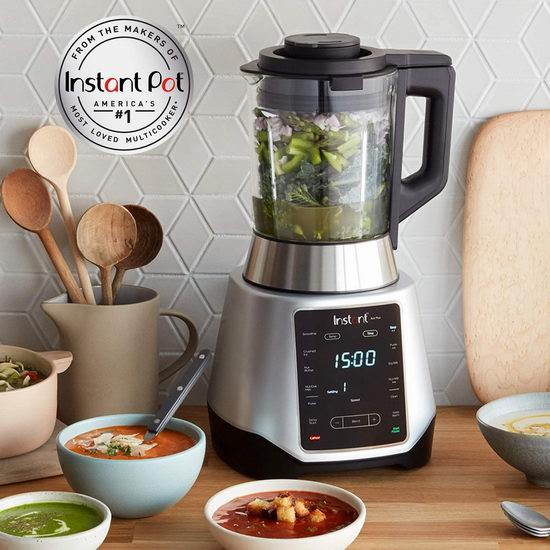 Instant Ace Plus 多功能破壁料理机 7折 139.99加元包邮!可以熬浓汤、做豆浆!