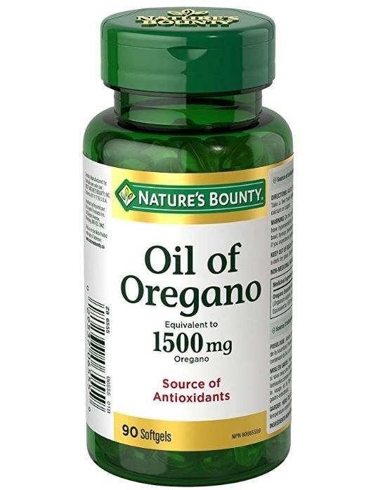 Nature's Bounty  牛至油胶囊 90粒  9.97加元(原价 12.27加元), 抗衰老、提高机体免疫力!