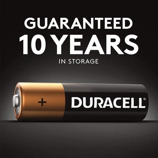 Duracell 金霸王 CopperTop AA碱性电池24件套 15.99加元!