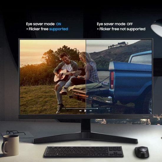 历史最低价!Samsung 三星 LS27T350FHNXZA 27英寸LED护眼显示器 198加元包邮!