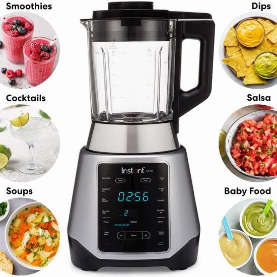 Instant Ace Plus 多功能破壁料理机7折 139.99加元包邮!可以熬浓汤、做豆浆!