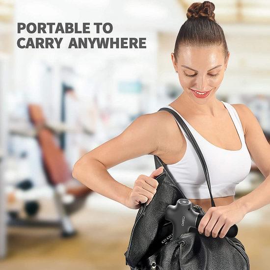 CARECJ 深层肌肉放松 筋膜枪/按摩枪 6折 59.99加元特卖并包邮!