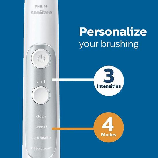 Philips 飞利浦 HX9630/17 Sonicare ExpertClean 7700 声波震动 智能牙刷 179.99加元包邮!送价值49加元紫外线消毒器!3色可选!