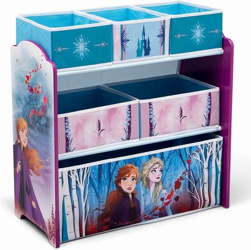 Delta《冰雪奇缘II》 儿童玩具收纳架 49.97加元+包邮!