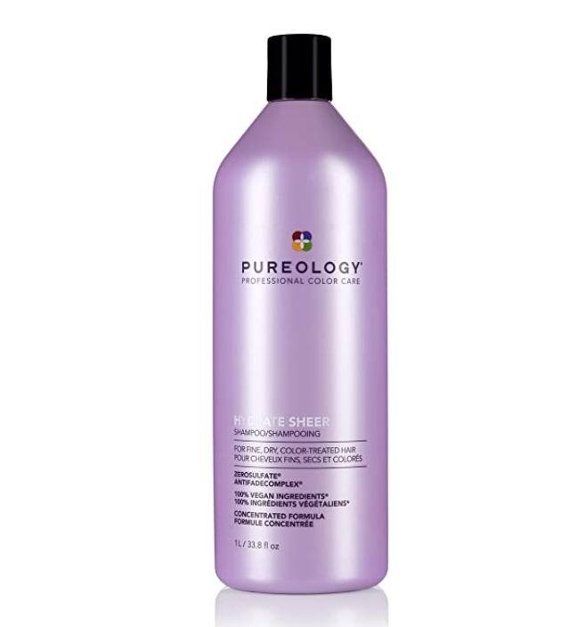 ureology Hydrate 顶级保湿护色洗发水 1升 专为干发设计 48.79加元,原价 57.4加元,包邮
