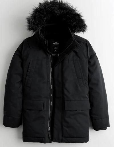 Hollister 精选成人冬季服饰5折起+最高额外5折! 防寒服低至28.99加元、封面款 37.99加元、牛仔裤 12.49加元