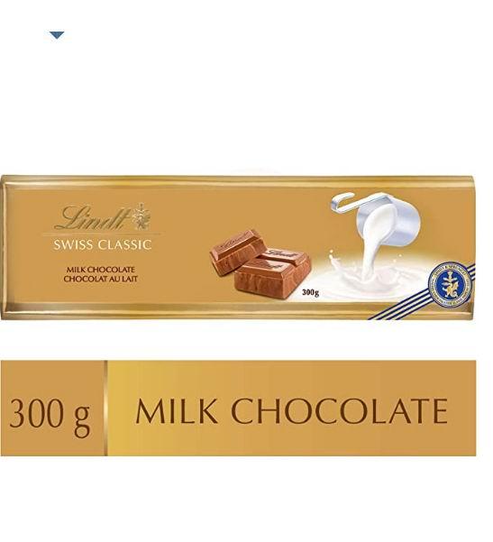 历史新低!Lindt Swiss 经典牛奶巧克力300克装 3.14加元清仓!