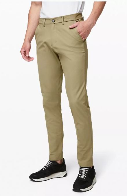 Lululemon 全场 Commission/ABC系列  男士商务休闲裤 59加元,原价 138加元,包邮