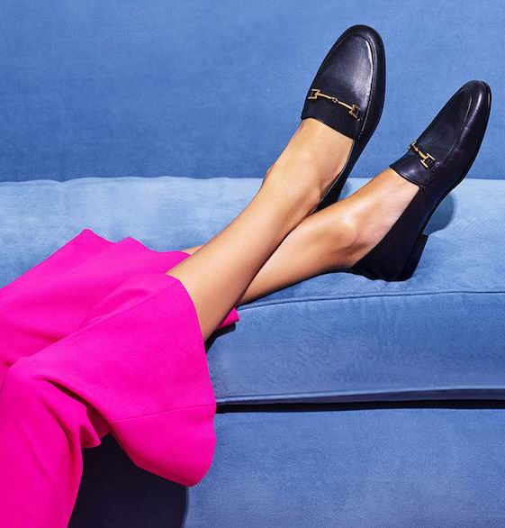 平价版GUCCI乐福鞋!Sam Edelman  Loraine女士经典乐福鞋 97.1加元(6码),原价 175加元,包邮