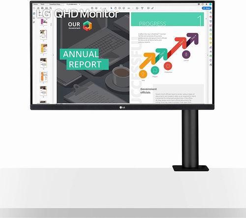 LG 27QN880-B 27英寸 IPS显示器 7.5折 (2K、75Hz、HDR10、60W Type-C)449.99加元,原价 599.99加元,包邮