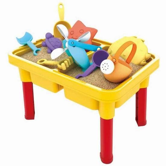 历史新低!SOWOW 幼儿戏水玩沙游戏桌套装5.2折 30.99加元!