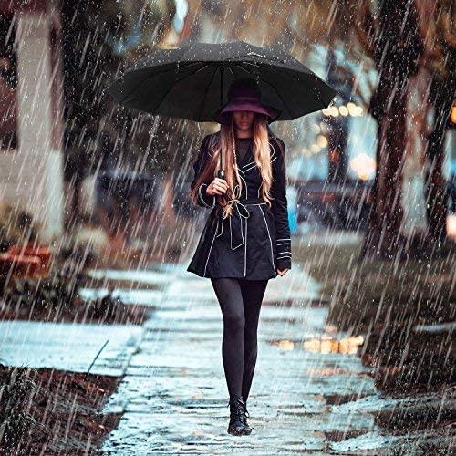 Miserwe 特氟龙涂层防风自动雨伞 17.99加元