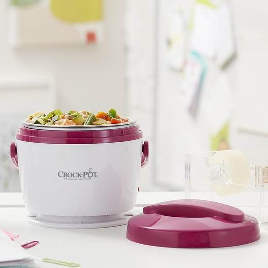 Crock-Pot SCCPLC200-PK 20盎司 电热午餐饭盒 22.26加元!上班族的移动厨房!