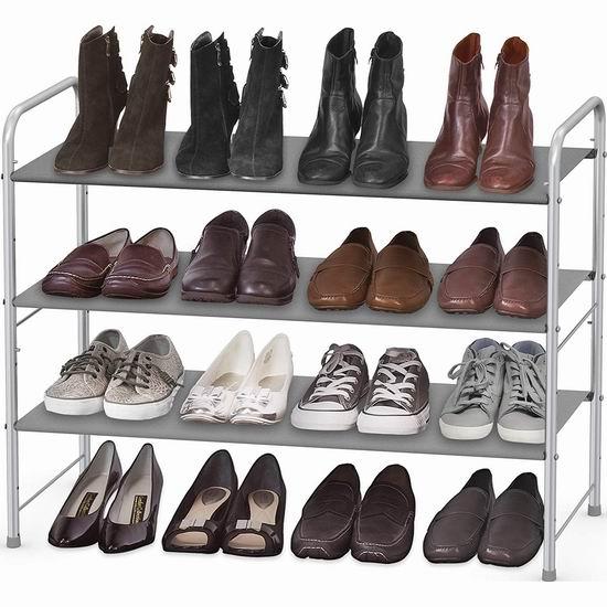 历史新低!SimpleHouseware 三层金属鞋架 17.89加元!