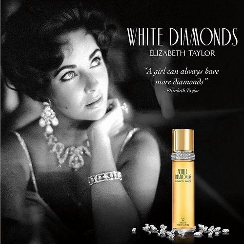 Elizabeth Taylor 伊莉沙白泰勒白钻女性淡香水 3.3盎司 6.3折 52.48加元,原价 83加元,包邮