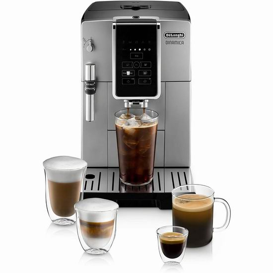 DeLonghi 德龙 ECAM35025SB Dinamica 全自动咖啡机 999.99加元包邮!