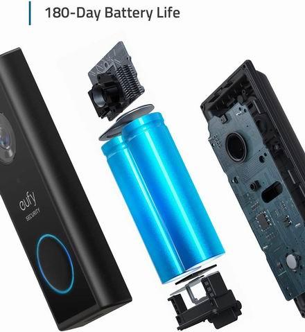 eufy 2K超高清 智能可视门铃 229.99加元包邮!无需月费、无需布线、性价比碾压Ring门铃!