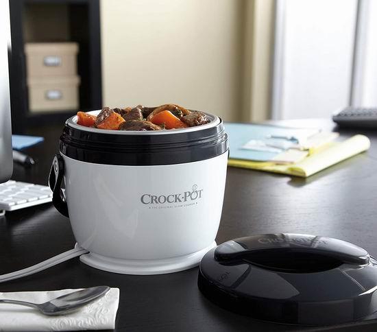 Crock-Pot Lunch Crock 电热午餐饭盒 18.94加元起!2色可选!
