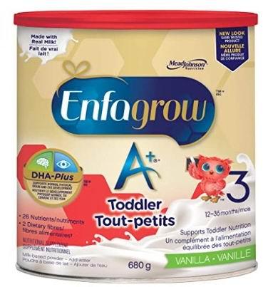 Enfagrow 美赞臣 A+ 幼儿配方奶粉 17.55加元包邮!