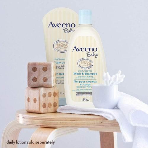 Aveeno 婴儿2合1燕麦洗发沐浴露 975毫升 16.12加元,原价 19.97加元