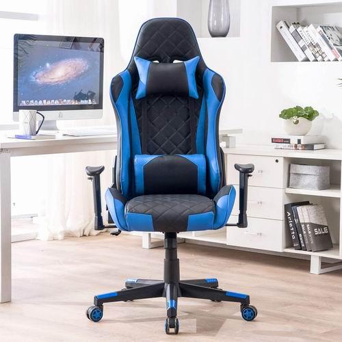 DJ·Wang 人体工学 高靠背赛车办公椅/游戏椅 177加元,原价 249加元,包邮
