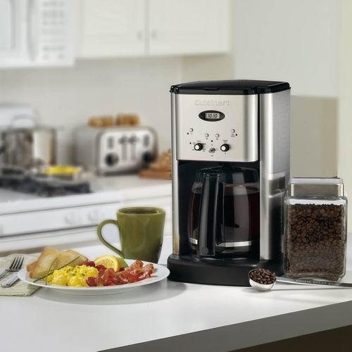 Cuisinart DCC-1200C 12杯容量可编程咖啡机 6.9折 89.99加元,原价 129.99加元,包邮