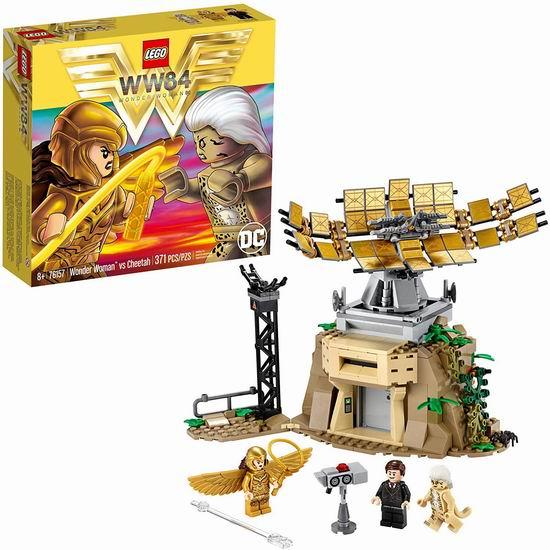 历史新低!LEGO 乐高 76157 神奇女侠对战豹女(371pcs)6折 29.97加元!