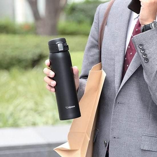 Zojirushi 象印 SM-SD60BC 20盎司(600毫升)黑色不锈钢保温杯 40.23加元包邮!
