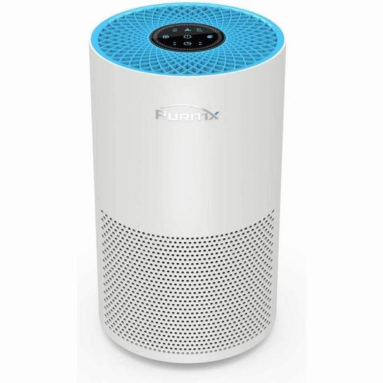 疑似bug价!历史新低!PURITIX True HEPA 超静音 家用空气净化器2.3折 41.99加元限量特卖并包邮!免税!