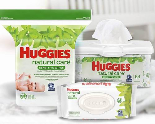 HUGGIES Natural Care无味婴儿湿纸巾 12 × 768张 56.04加元(会员价 50.14加元),原价 64.99加元,包邮