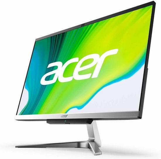 历史新低!Acer 宏碁 Aspire C24-963-UA91 AIO 23.8英寸 全高清 超薄窄边框 台式电脑一体机 683.15加元包邮!
