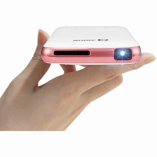 历史新低!AODIN Young 迷你超便携 家庭影院 WiFi无线投影仪 239.99加元包邮!