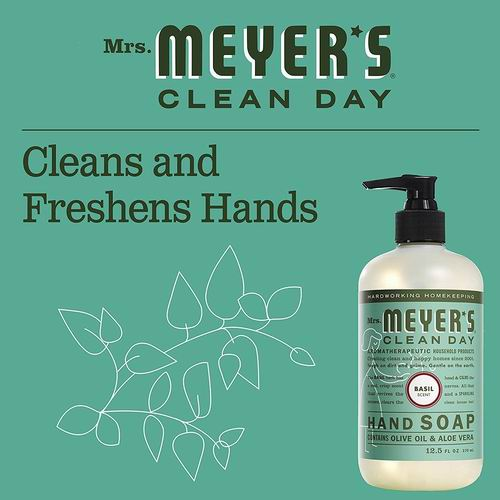 Mrs. Meyer's 洗手液 370毫升 4.97加元,3种味道可选!
