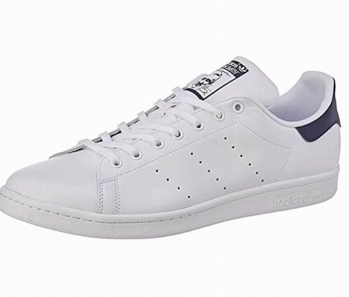 adidas Originals Stan Smith 男士蓝尾小白鞋 37.83加元(4.5码),原价 110加元,包邮