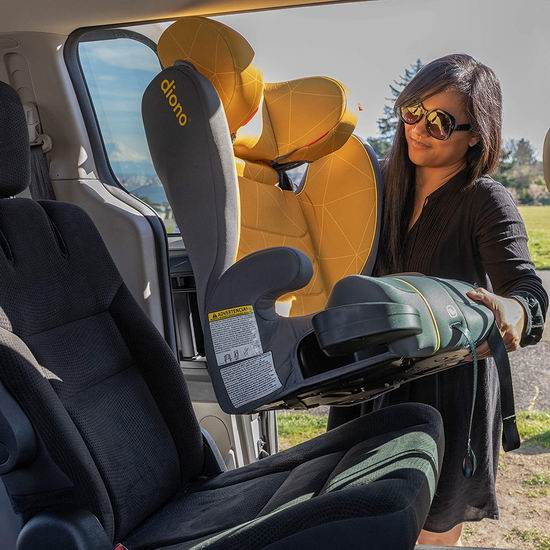 历史新低!Diono 谛欧诺 Monterey XT 增高汽车安全座椅 134.97加元包邮!