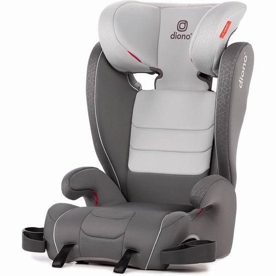 历史新低!Diono 谛欧诺 Monterey XT 增高汽车安全座椅7.2折 130加元包邮!