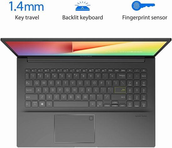 历史最低价!Asus 华硕 VivoBook S15 15.6英寸超轻薄笔记本电脑(8GB, 512GB SSD) 699加元包邮!