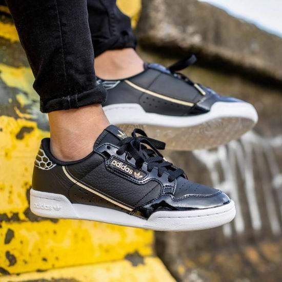 手慢无!白菜价!adidas Originals Continental 80 女式复古真皮运动鞋3折 36加元包邮!(5/10码)