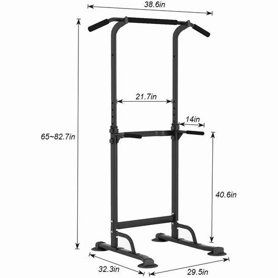 DlandHome 多功能力量训练健身器 89加元限量特卖并包邮!