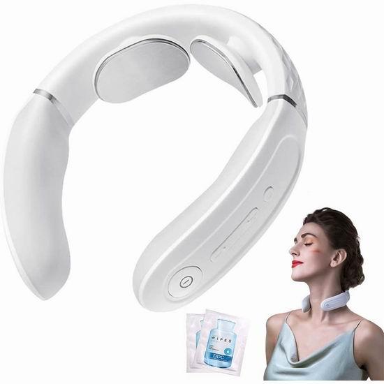 王一博同款 SKG K3 智能恒温 颈椎按摩仪 54.99加元包邮!