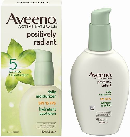 Aveeno 大豆保湿面霜SPF 15  120毫升 13.1加元,原价 19.97加元