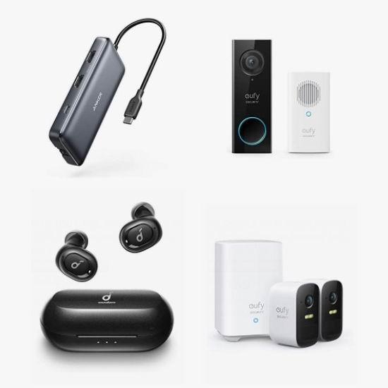 金盒头条:精选 Anker、eufy、Soundcore、Nebula 可视门铃、智能投影机、蓝牙音箱、真无线耳机、智能监控、充电宝、充电器等6折起!